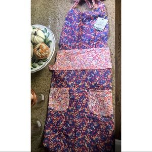 NWT Liberty for Anthropologie apron
